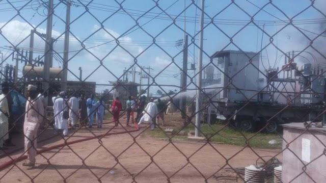 Fire Guts PHCN Power Station In Zamfara State