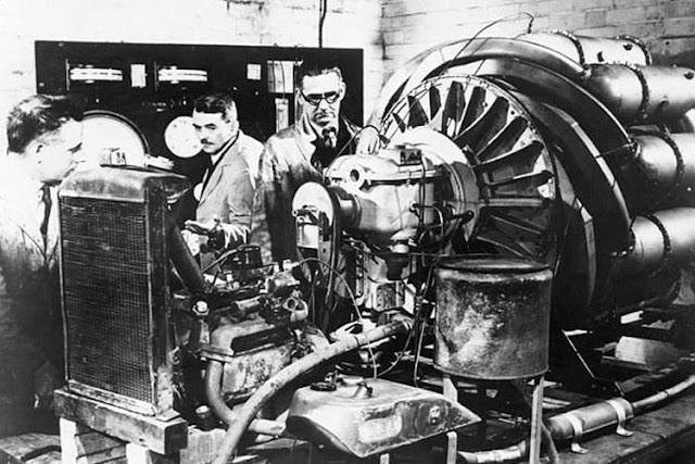 Penemuan dan Percobaan Mesin Turbojet