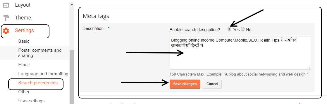 search-preference-in-blogspot-blog