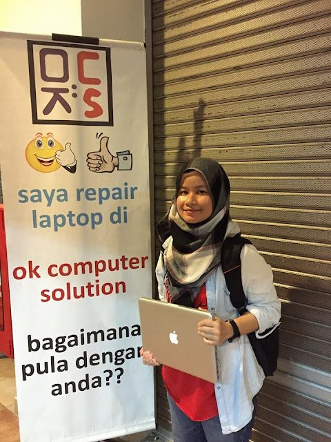 [SOLVED] MACBOOK NO ENTRY SIGN | KEDAI REPAIR MACBOOK 17