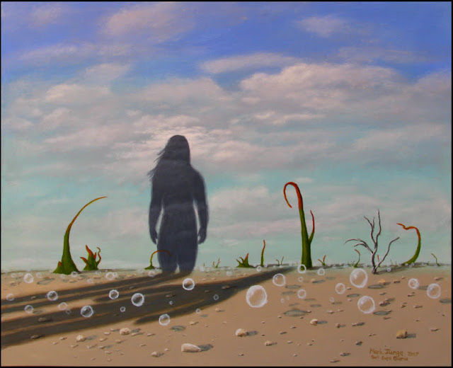 art,artwork,painting,paintings,surreal,surrealism,surrealistic,landscape,shadow,shadows,bubbles,rocks,biomorphic