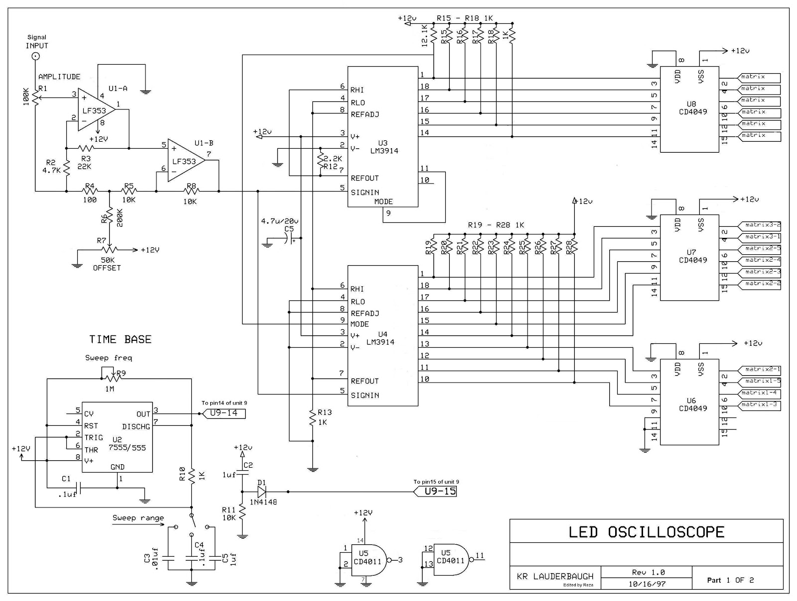 About Electronic The Led Scope Schematics