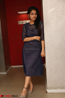 Dazzling Janani Iyer New pics in blue transparent dress spicy Pics 025.jpg
