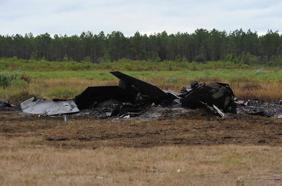 F-22 Raptor jatuh di Florida