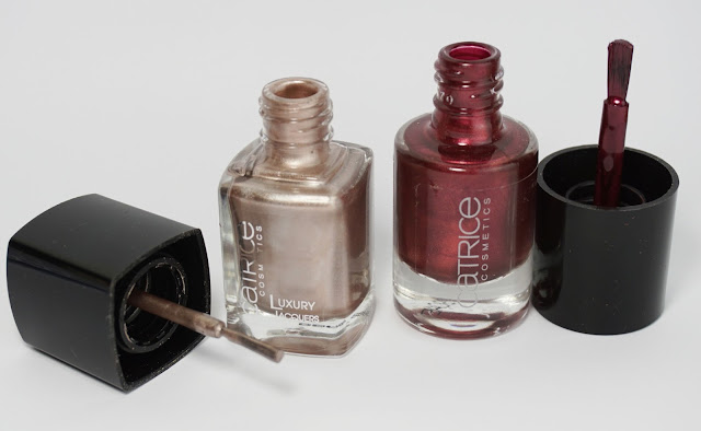 CATRICE-Neuheiten Herbst/Winter 2015: 12 Metallic Rose Revolution & 102 London Town at Sundown