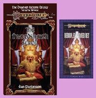 Portadas del libro Derkin, el primer rey (Naciones enanas 3, dragonlance)