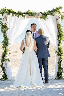 Sanibel Island wedding ceremony