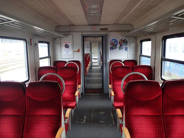 Pociąg Bielsko Biała - Kraków Płaszów
