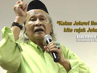 [VIDEO] Budayawan Betawi: Kalau Jokowi Masih Lindungi Ahok, Kite Rujak Jokowinye!