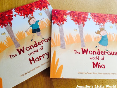 Review - Personalised children's books from Wondrous Ink