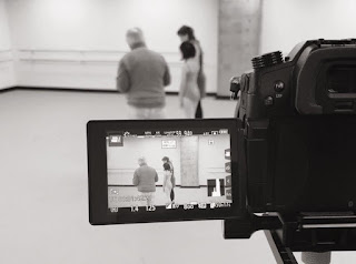 Behind the scenes at the NSTT video shoot with Veronique MacKenzie.