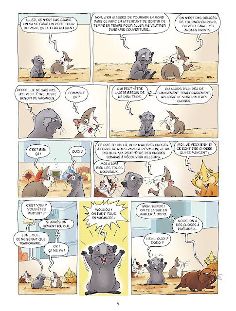 Les cochons dingues tome 2 aux editions Delcourt page 6