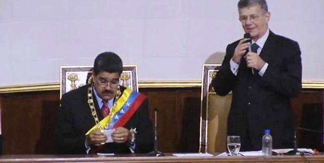 AN debatirá responsabilidad política de Nicolás Maduro