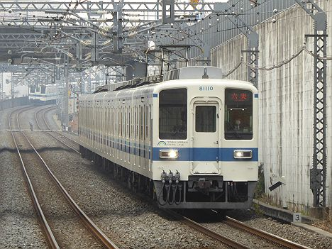 東武野田線 六実行き2 8000系LED車