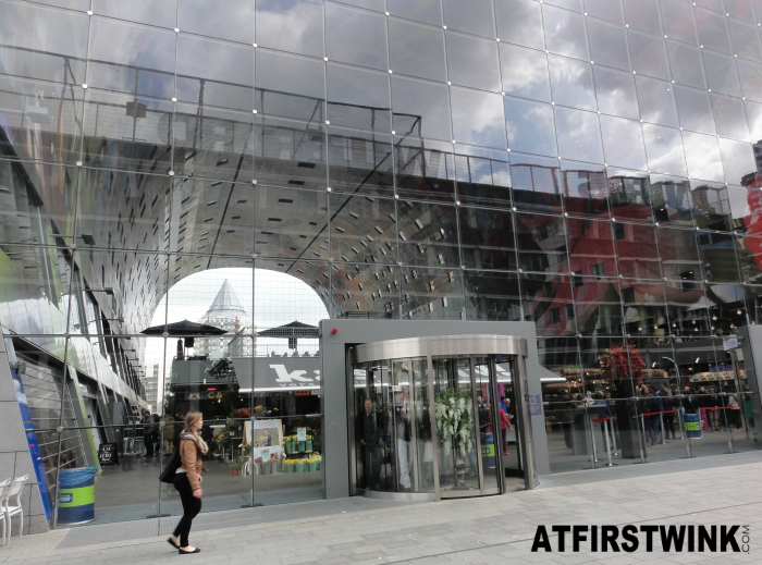 Markthal, Rotterdam achteruitgang | rear exit