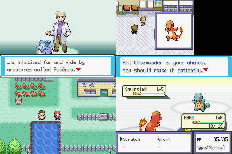 Pokemon Mega Fire Red