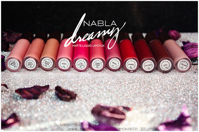 Dreamy Matte Liquid Lipstick rossetto liquido nabla cosmetics recensione  packaging