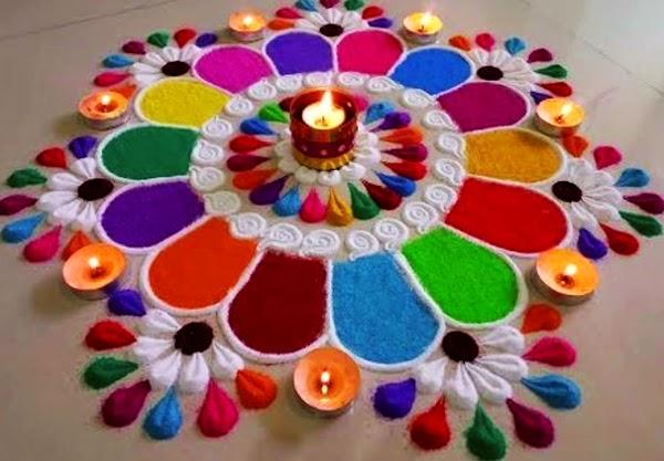 Best Rangoli Design Images For Diwali.