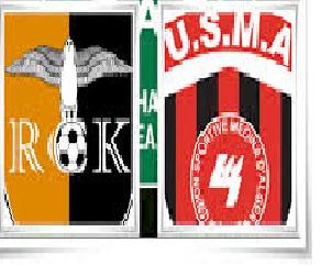 مباراة اتحاد الجزائر العاصمة رويال كلوب دو كيدوغو