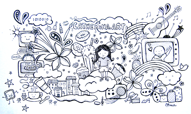 Doodles by Catherina Amor