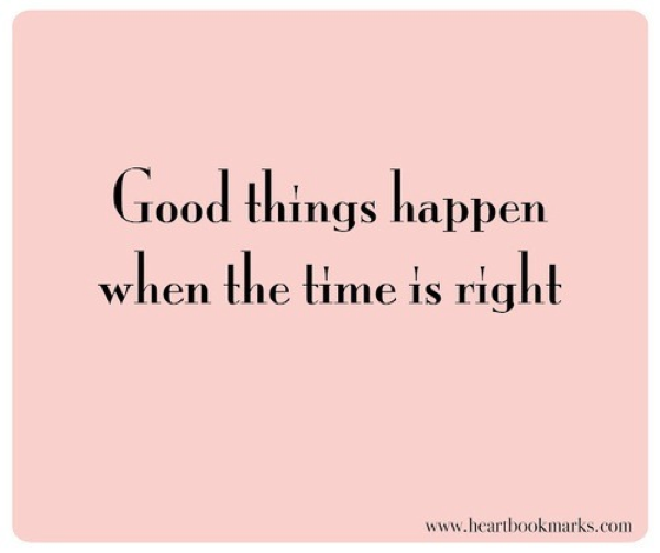 When The Right Time Comes Quotes: Decore Com Gigi: PINK, PINK, PINK: The Color Gorgeous