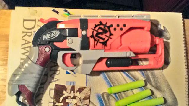 Hammer, Zombie Strike, One handed, Blaster