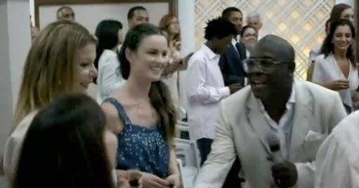 Cantor Kleber Lucas participando de novela da Globo