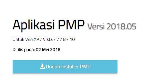 Download Instaler PMP Versi 2018.05h