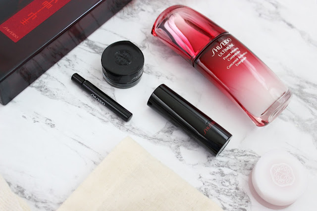Shiseido, eudermine, makeup, makeup review, shiseido review, eyeshadow, cream products, cream makeup, inkstroke, rouge rouge, paperweight cream