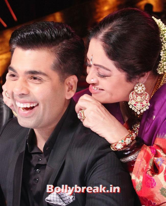 Karan Johar and Kirron Kher, Alia Bhatt on India's Got talent