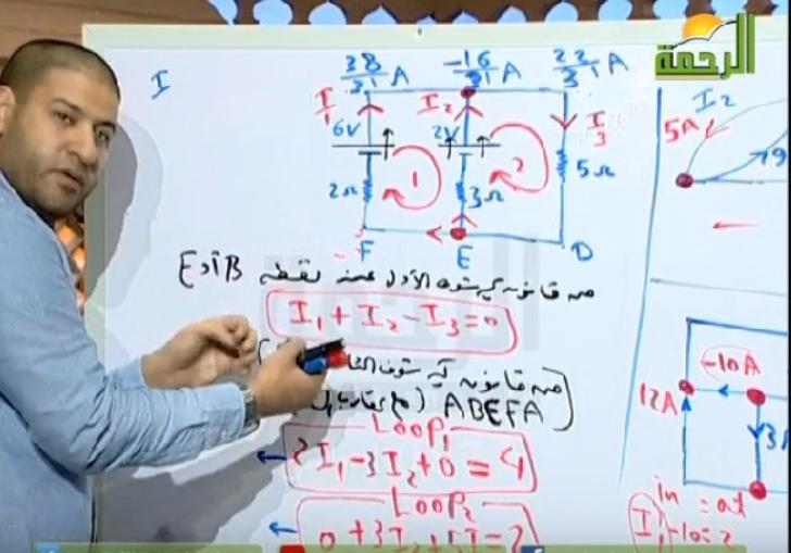 شاهد شرح قانون كيرشوف فيزياء الصف الثالث الثانوى 2019