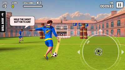 Screenshot SkillTwins Football Game