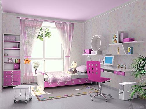 Langsir Bilik Tidur Anak Perempuan Desainrumahid