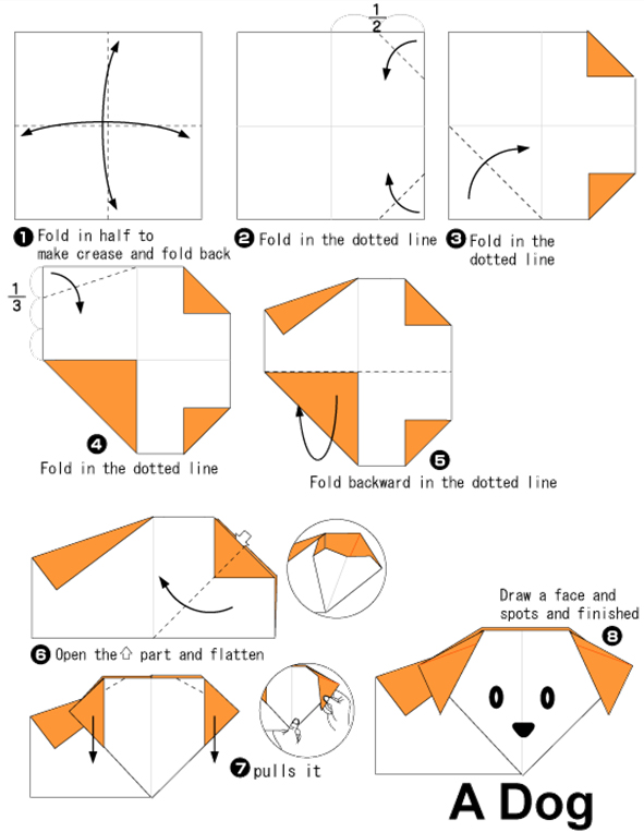 Origami Turkey Directions Printable