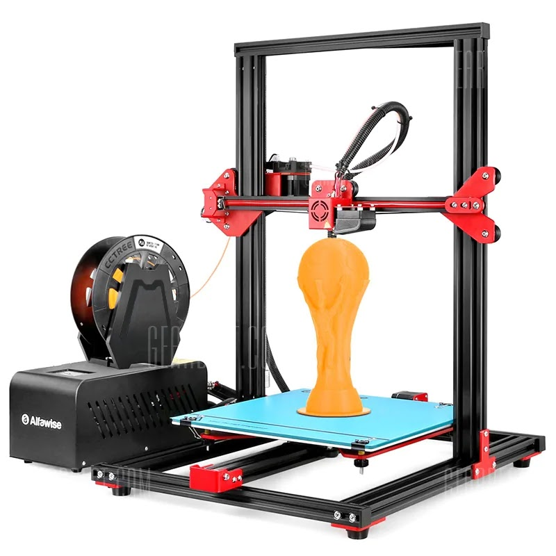 Alfawise U20 Large Scale 2.8 inch Touch Screen DIY 3D Printer EU Coupon