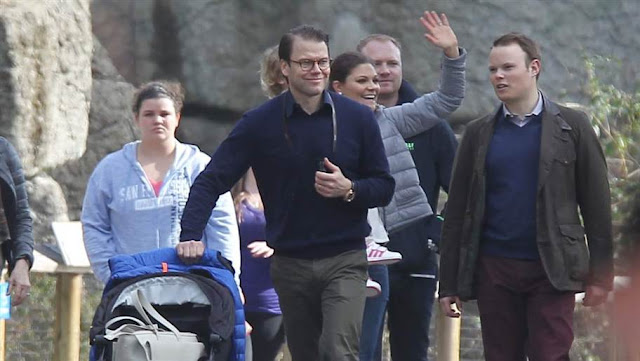 Crown Princess Victoria and Crown Prince Daniel and Princess Estelle visits San Fransisco
