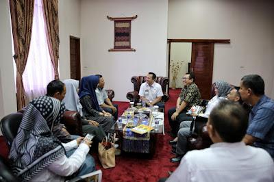Safari Digital, SMSI Ajak Pemprov Lampung Bersinergi