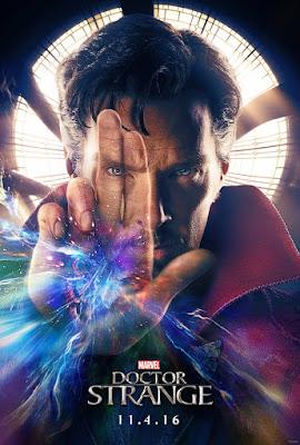 Marvel's Doctor Strange Teaser Theatrical One Sheet Movie Poster