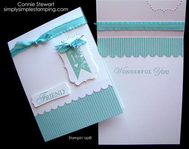 flash card designer series paper friendship card no 13 simply