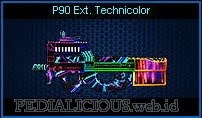 P90 Ext. Technicolor