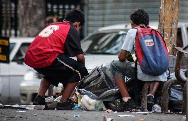 niños con hambre venezuela