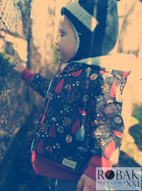 My się zimy nie boimy - kurtka softshell dla malucha