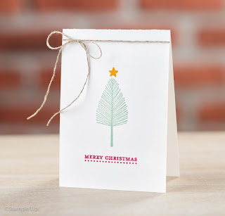 Stampin' Up! 4 Totally Trees Projects for All Seasons #stampinup www.juliedavison.com
