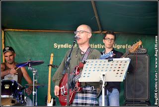 BogZH Celtic Cats ! Fabien aux guitares électrique et folk et au chant