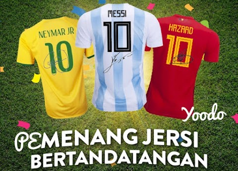 Pemenang Yoodo World Cup Contest