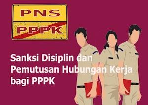 Pengenaan Sanksi Disiplin dan Jangka Waktu PPPK