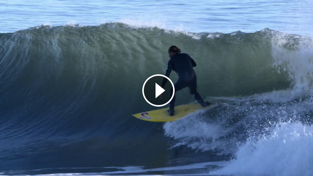 Tom Curren Surfing with bonus Surfing Dolphins at end