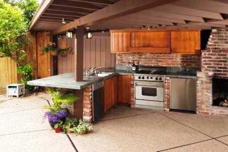 Desain Rumah Dengan Dapur Terbuka