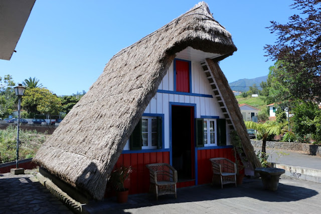 Madeira, Wohnhaus in Santana