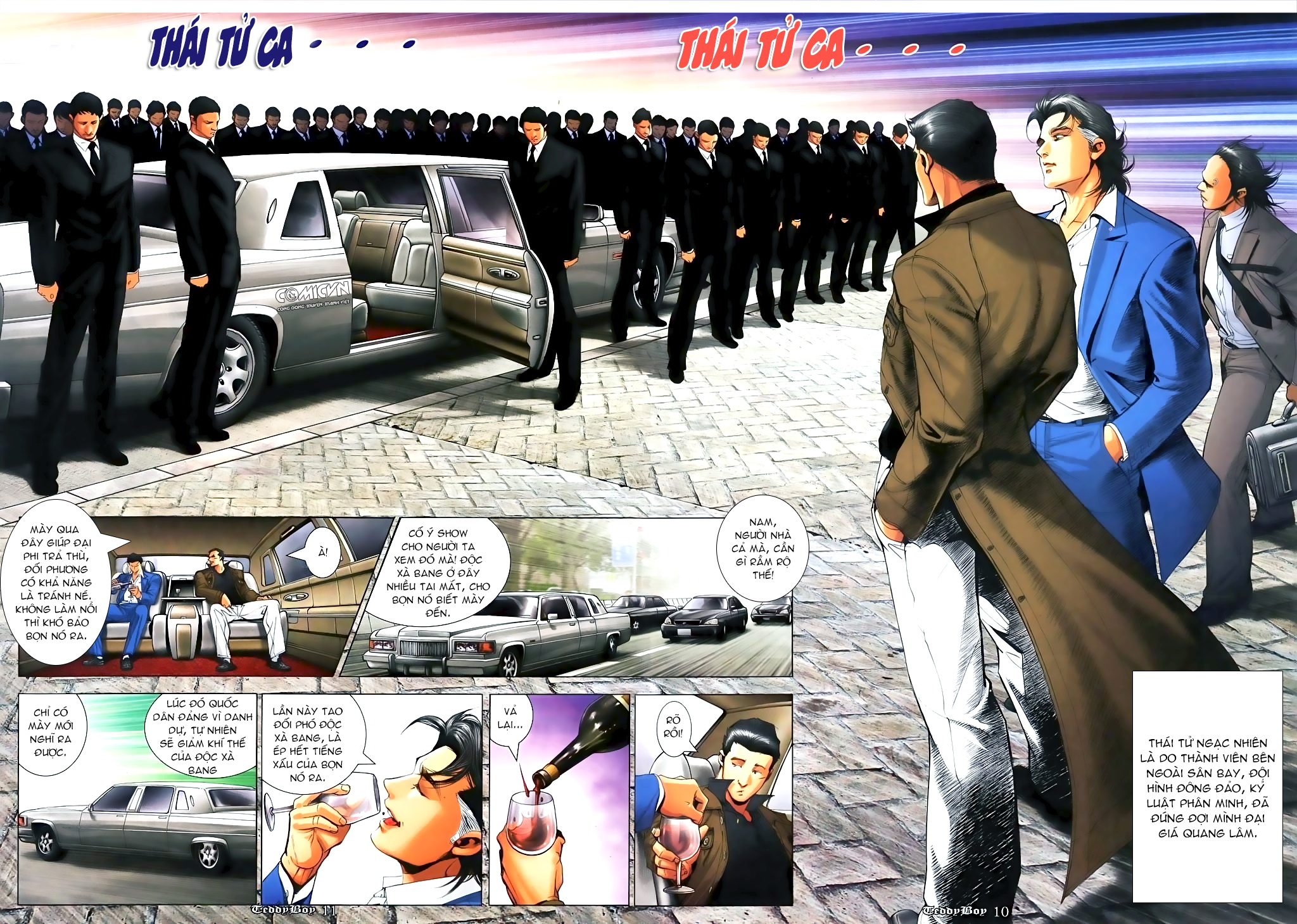 Người Trong Giang Hồ Chap 1088 - Truyen.Chap.VN